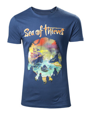 T-shirt Sea Of Thieves Logga vuxen