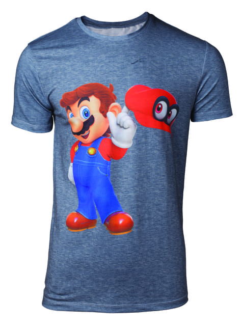 Super Mario Odyssey t-shirt