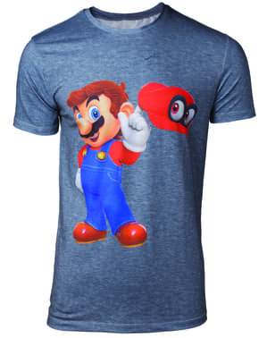 Maglietta di Super Mario Odyssey