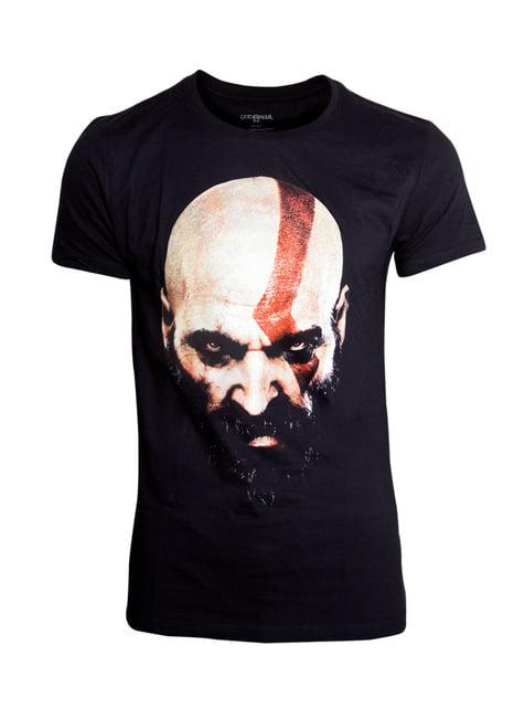 God of War Kratos Face T-Shirt for men