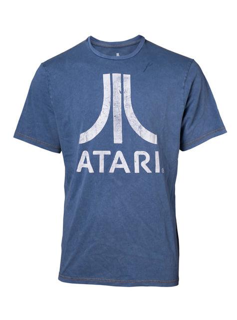 Koszulka denim męska - Atari