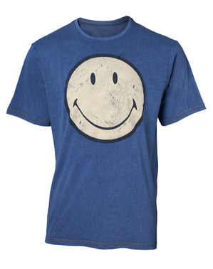 Denim Hymiö-logo-t-paita miehille