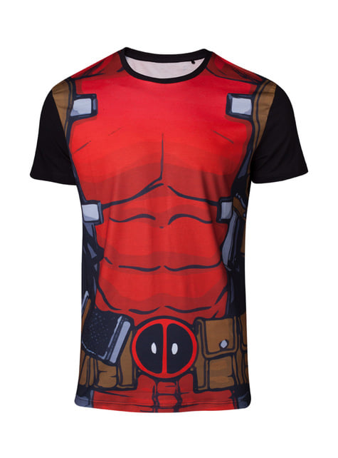 Deadpool Suit T-Shirt voor mannen