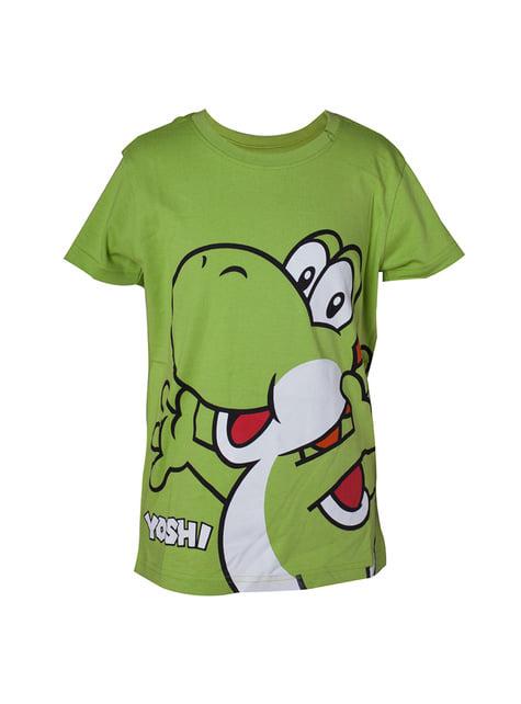 Chlapecké triko Yoshi zelené - Super Mario Bros