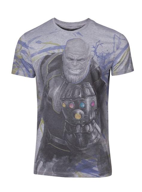 T-shirt Thanos para homem - Os Vingadores: Infinity War