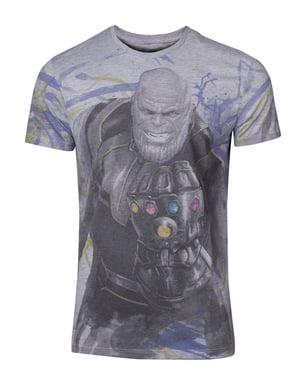 男性用のタノスTシャツ - アベンジャーズ:インフィニティ戦争