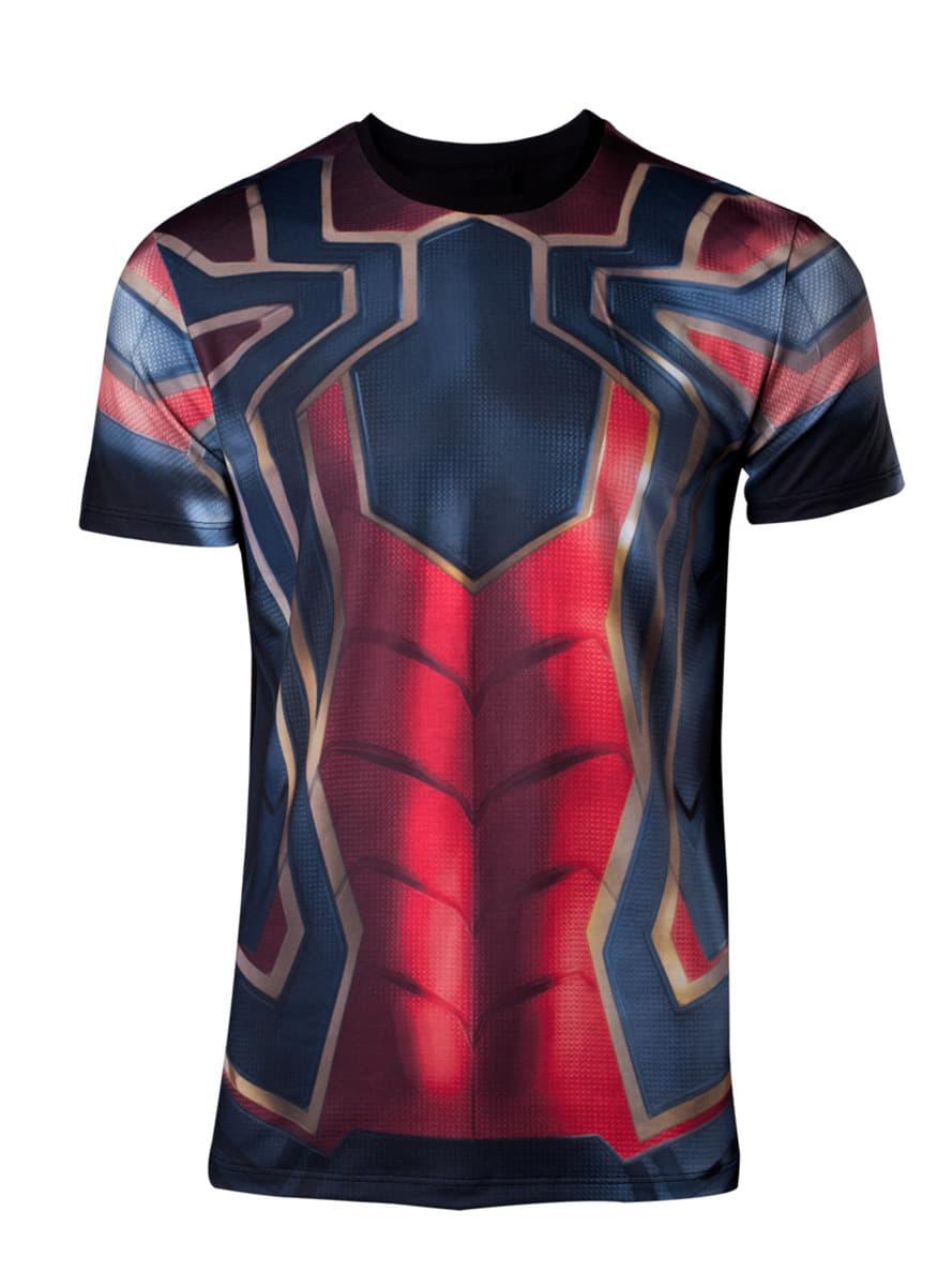 Spider-Man T-Shirt für Herren - Avengers - Infinity War offizielle ...