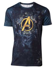 Pánské triko Avengers - The Avengers  Infinity War ... 77470fb1ad
