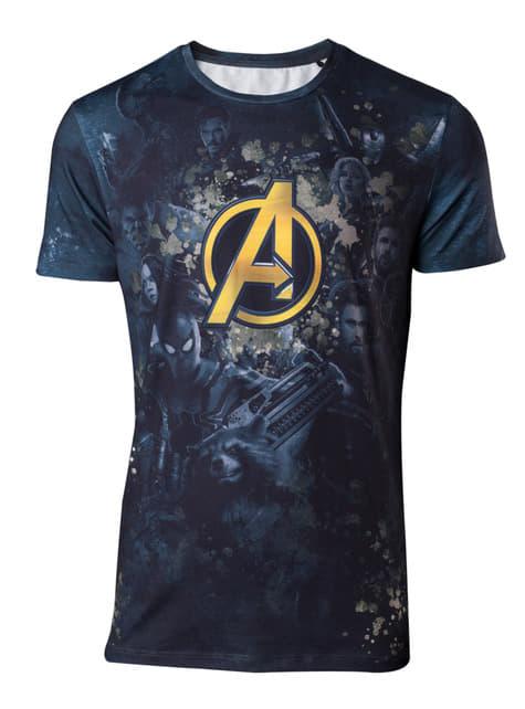 Camiseta Vengadores para hombre - Los Vengadores: Infinity War