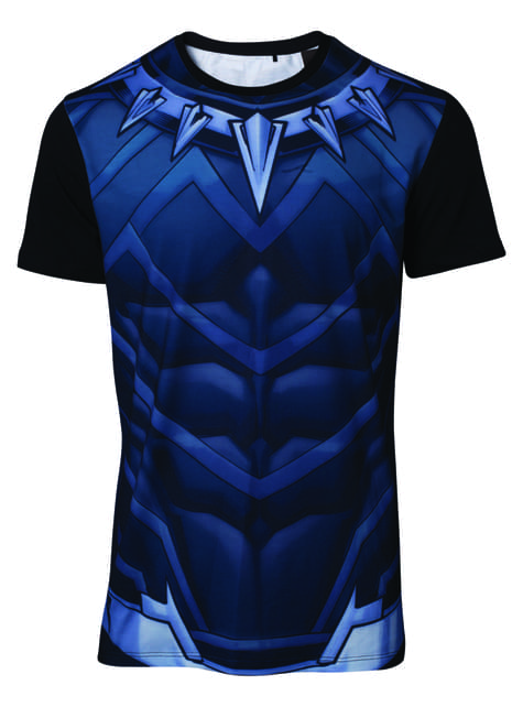 T-shirt Black Panther Fato para homem