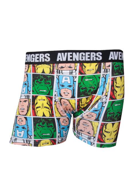 Boxers de Os Vingadores para homem