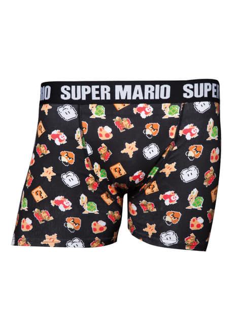 Boxers de Super Mario Bros para homem