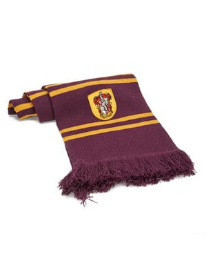 Écharpe de Harry Potter Gryffondor bordeaux (Réplique officielle Collectors)