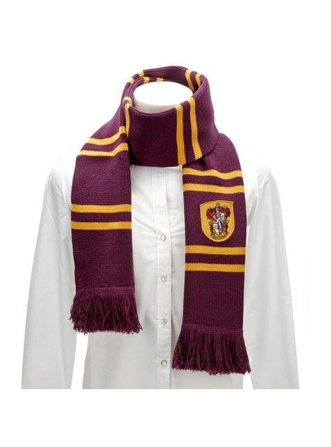 Bufanda de Gryffindor Harry Potter (Réplica oficial) - para regalar en cualquier ocasión