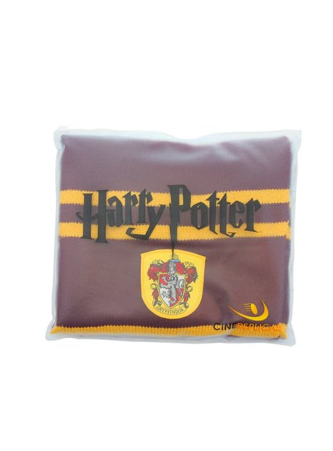 Cachecol de Gryffindor bordeaux (Réplica oficial Collectors) - Harry Potter