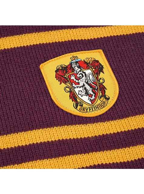Gryffindor scarf in burgundy (Official Collector's replica) - Harry Potter