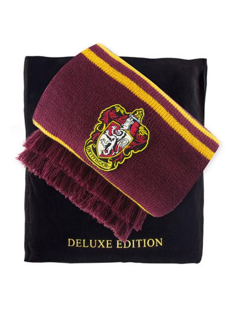 Cachecol de Gryffindor edição Deluxe - Harry Potter