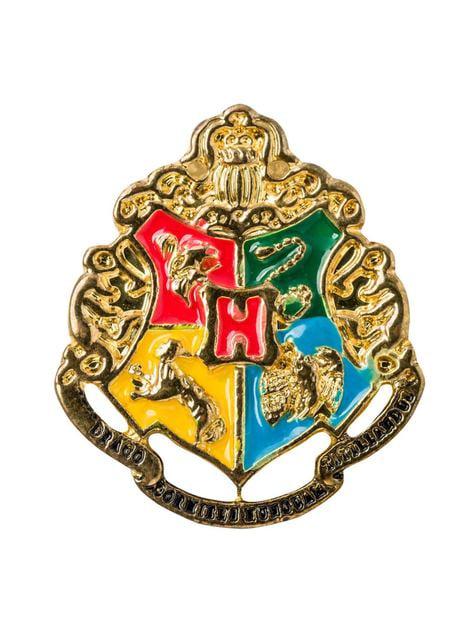 Griffoendor stropdas en speld deluxe set - Harry Potter