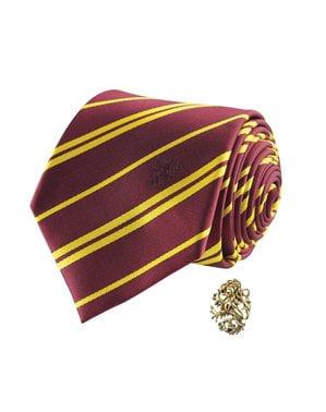 Cravatta di Harry Potter e spilla di Grifondoro