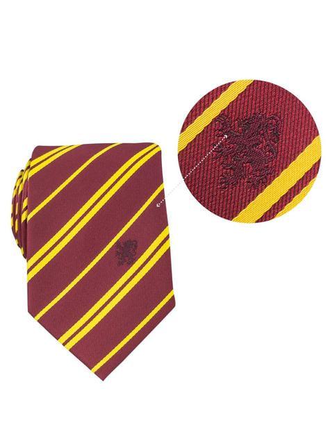 Pack Cravate et badge Gryffondor boîte deluxe - Harry Potter