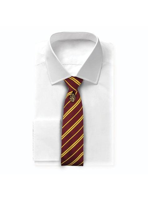 Cravate Harry Potter et badge Gryffondor