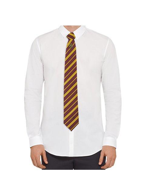 Pack corbata y pin Gryffindor caja deluxe - Harry Potter