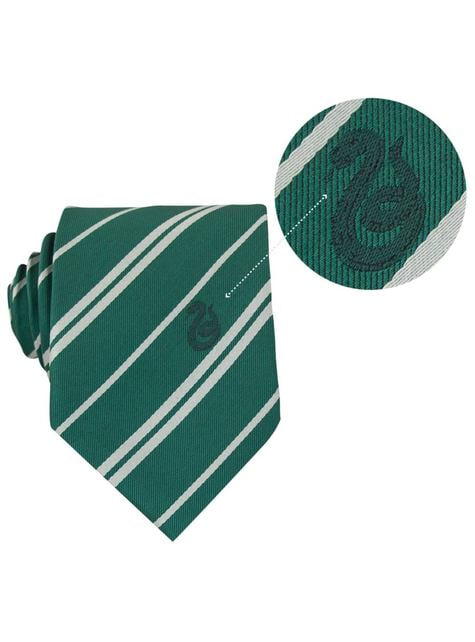 Pack corbata y pin Slytherin caja deluxe - Harry Potter - oficial