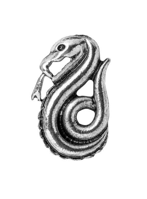 Pack corbata y pin Slytherin caja deluxe - Harry Potter - el más divertido