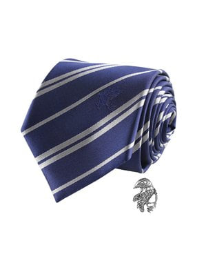 Pack Cravate et badge Serdaigle boîte deluxe - Harry Potter