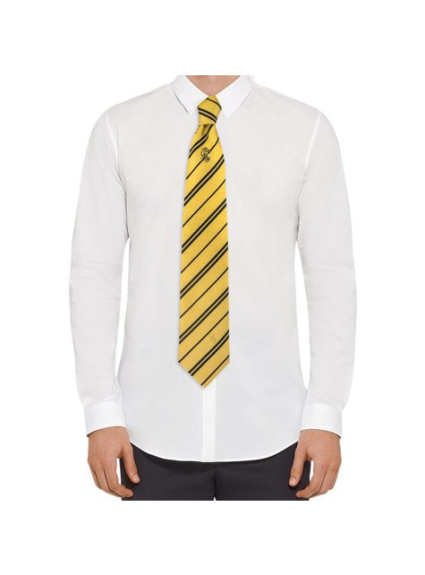 Pack corbata y pin Hufflepuff caja deluxe - Harry Potter - comprar
