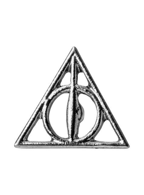 Pack corbata y pin Las Reliquias de la Muerte caja deluxe - Harry Potter - el más divertido