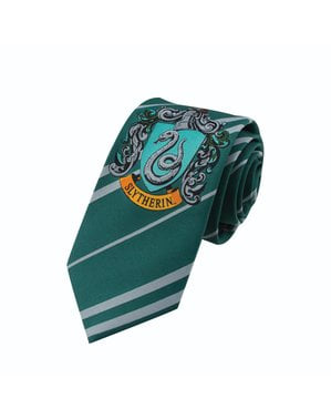 Gravata Slytherin para menino - Harry Potter