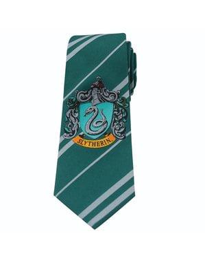 Gravata Slytherin para menino - Harry Potter