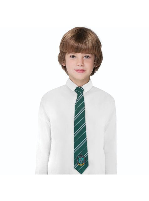 Corbata Slytherin para niño - Harry Potter - comprar