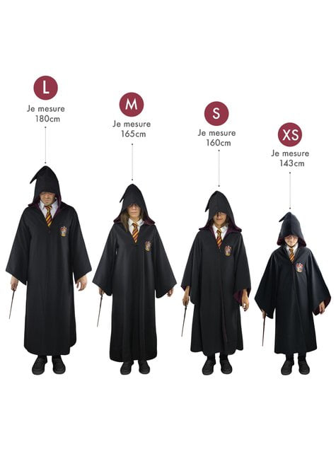 Cape Harry Potter Gryffondor Deluxe adulte (Réplique officielle Collectors)