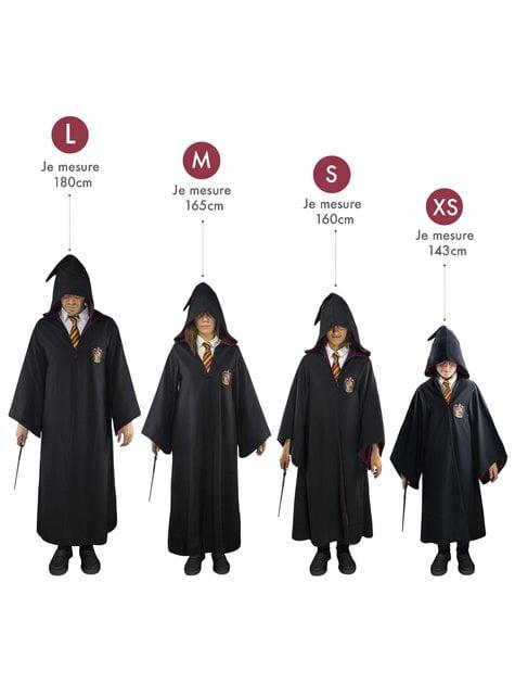 Capa Harry Potter Gryffindor para adulto (Réplica oficial)