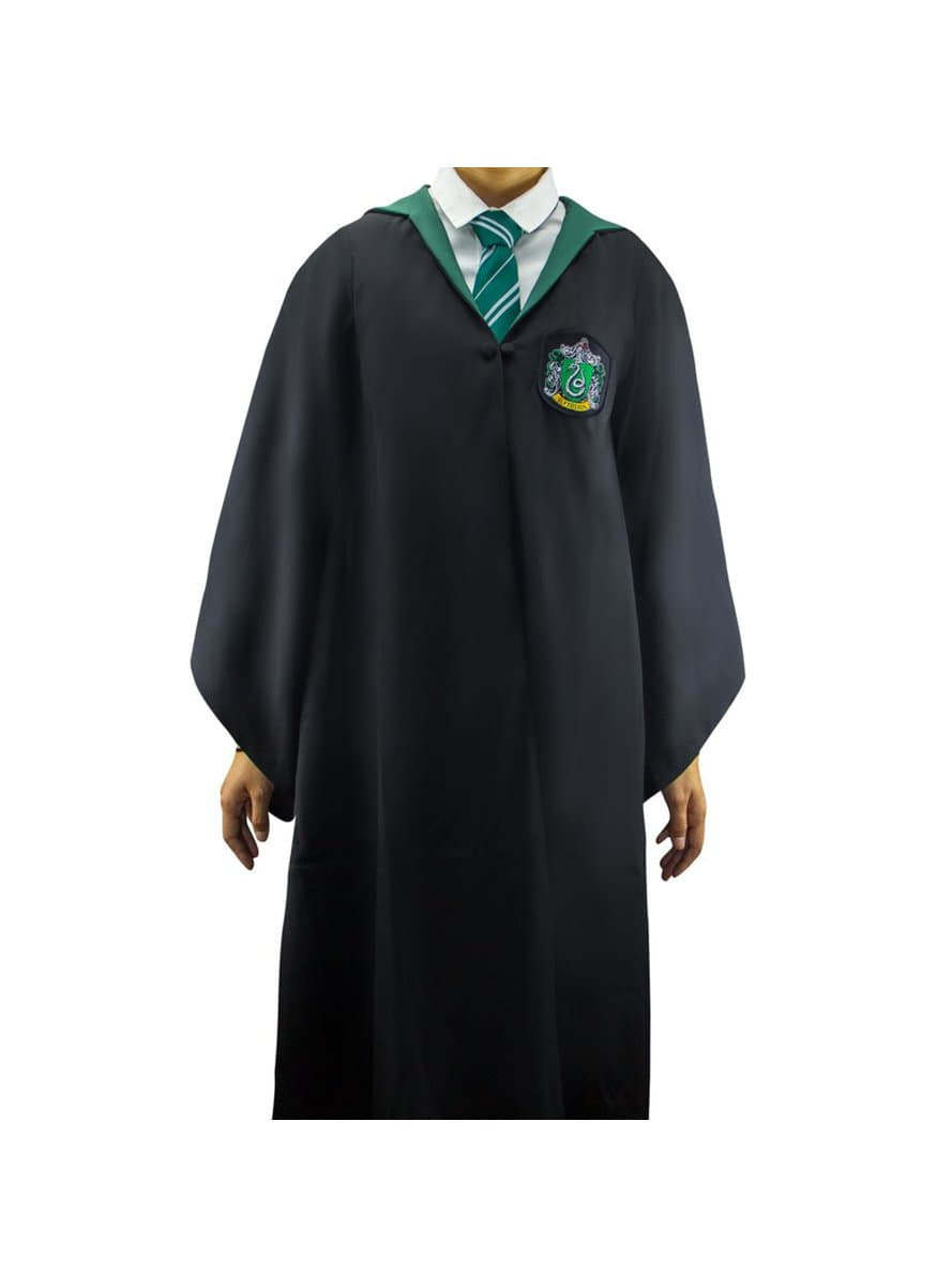 Slytherin Deluxe Robe For Adults Harry Potter For True