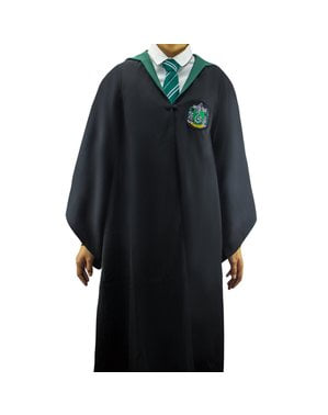 성인을위한 Slytherin Deluxe 가운 - Harry Potter