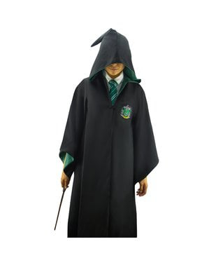Cape Serpentard Deluxe adulte (Réplique officielle Collectors) - Harry Potter