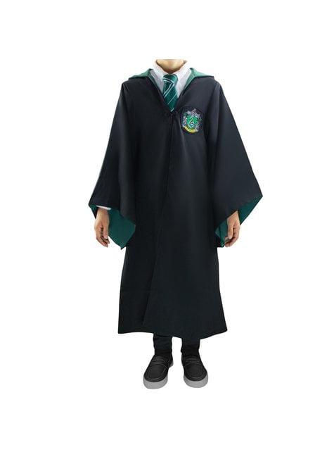 Slytherin Deluxe skikkju fyrir stráka - Harry Potter