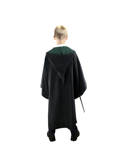 Túnica de Slytherin Deluxe para niño (Réplica oficial Collectors) - Harry Potter - hombre