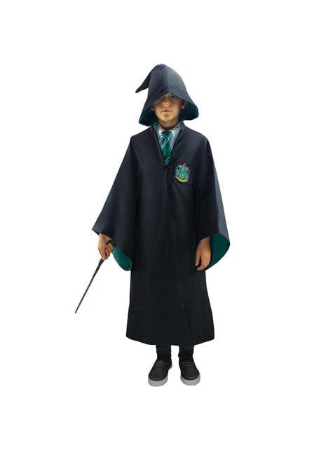 Túnica de Slytherin Deluxe para niño (Réplica oficial Collectors) - Harry Potter - original