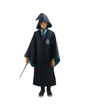 Slytherin Deluxe Robe for Kids (Resmi Koleksiyoncunun Replikasyonu) - Harry Potter