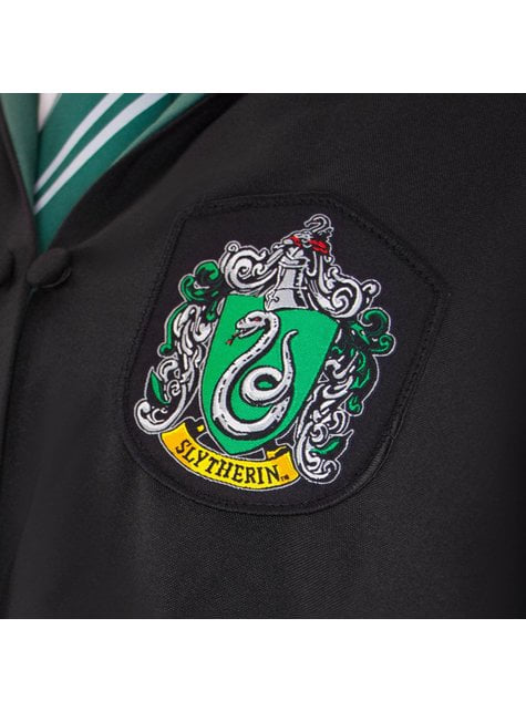 Túnica de Slytherin Deluxe para niño (Réplica oficial Collectors) - Harry Potter - oficial