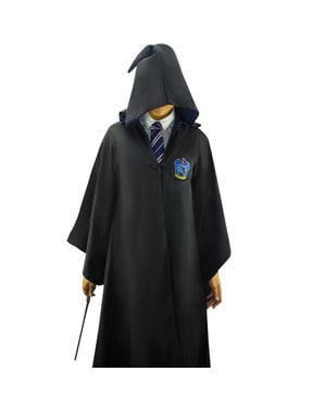 Robe Harry Potter Ravenclaw Deluxe för vuxen (officiell replika Collectors)