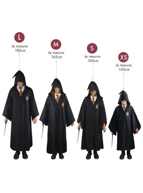 Ravenklauw Deluxe cape voor volwassenen (officiële verzamelaars kopie) - Harry Potter