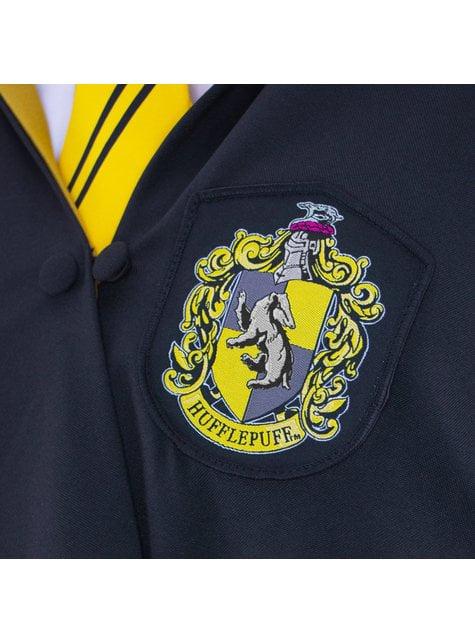 Túnica de Hufflepuff Deluxe para adulto (Réplica oficial Collectors) - Harry Potter - oficial