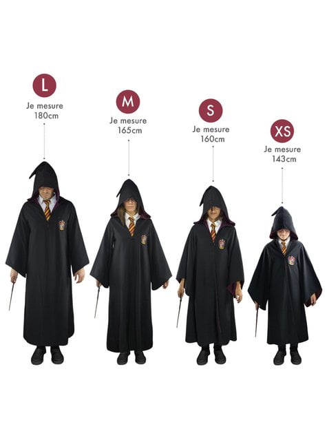 Túnica de Hufflepuff Deluxe para adulto (Réplica oficial Collectors) - Harry Potter - para regalar en cualquier ocasión