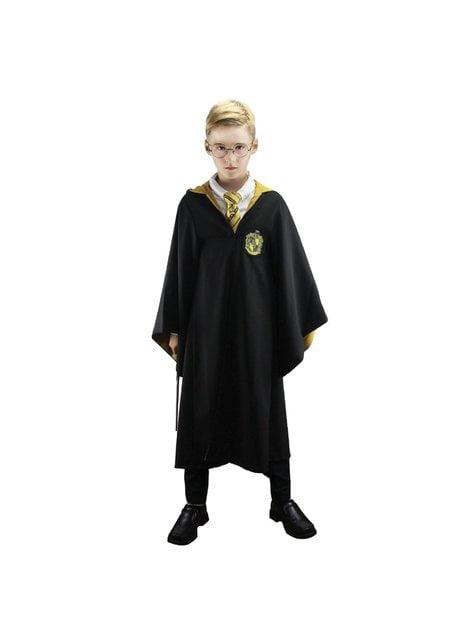 Hufflepuff Deluxe robe for boys - Harry Potter