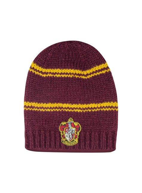 Bordeauxrode Griffoendor slouchy beanie muts - Harry Potter